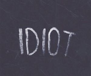 idiot and lockscreen image