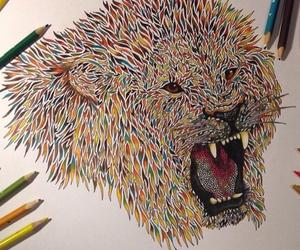 art, colours, and disegni image