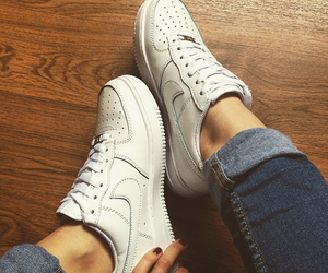 air, force, and nike image