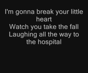 song, all time low, and break image