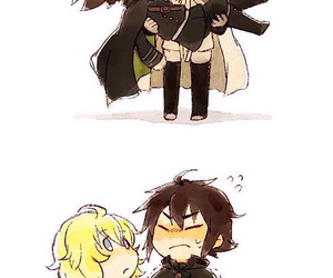 anime boy, owari no seraph, and end of seraph image