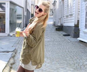 happy, outfit, and style image