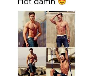 Hot, zac efron, and abs image