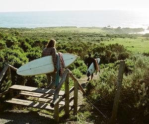 beach, coast, and surf image