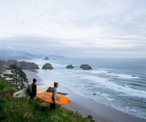 beach, cliff, and coast image