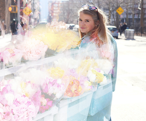 fashion, flowers, and new york image
