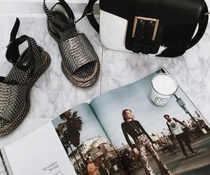 fashion, magazine, and bag image