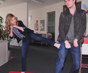 aaron johnson, friendship, and funny image