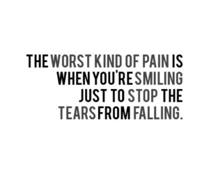 quotes, pain, and tears image