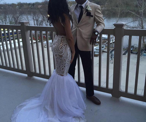 couple, cute couple, and Prom image