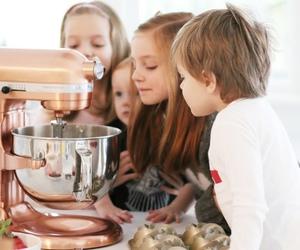 baby, cupcake, and food image