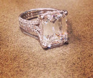 ring, diamond, and perfect image
