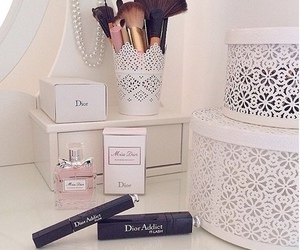 dior, makeup, and perfume image