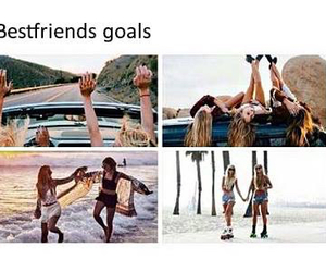best friends and goals image