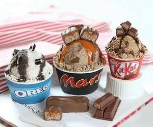 oreo, mars, and ice cream image