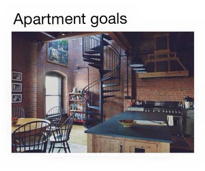 goals and apartment image