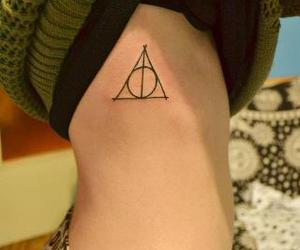cool, deathly hallows, and harry potter image