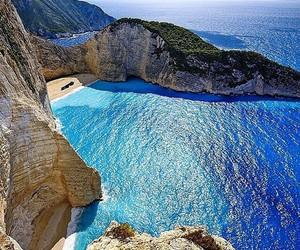 Greece and beach image