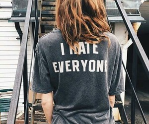 hate, fashion, and girl image