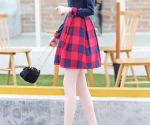 asian fashion, clothes, and korea fashion image