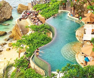 Island, paradise, and summer image