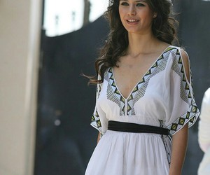 dress, Turkish, and white image