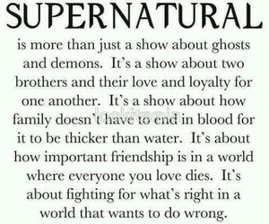 supernatural and family image