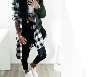 dope, outfit, and shoes image
