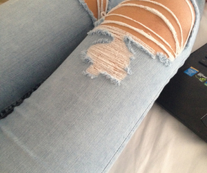 beautiful and jeans image