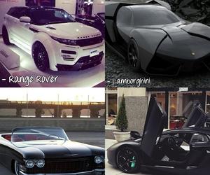 black, car, and cars image