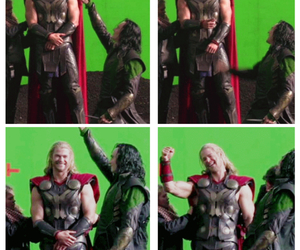 Avengers, behind the scenes, and bromance image