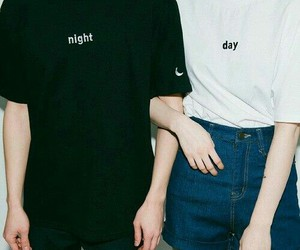 boy, girl, and day image