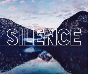 silence, nature, and wallpaper image