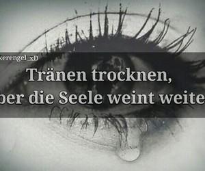 sad, traurig, and sprüche image