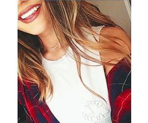 girl, smile, and style image
