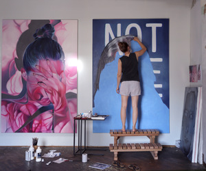 art, painting, and tumblr image