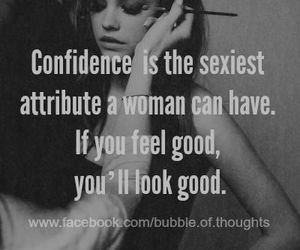 confidence and woman image