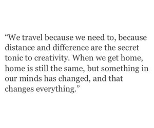 quotes, travel, and change image
