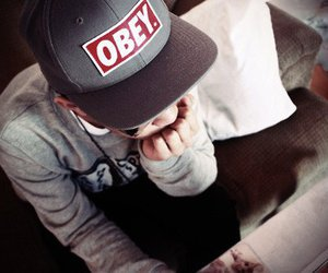 obey, photography, and boy image