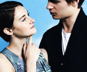Shailene Woodley and ansel elgort image