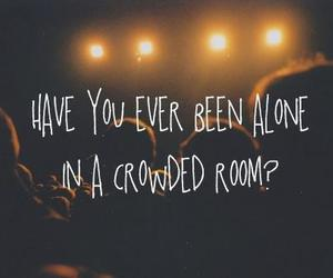 alone, quote, and text image
