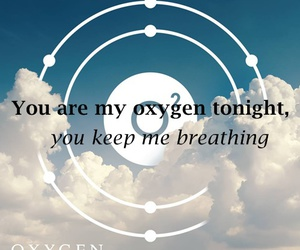 music, oxygen, and inhale image