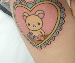 tattoo, kawaii, and pastel image