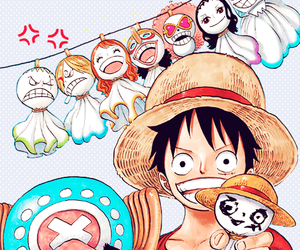 one piece, luffy, and anime image