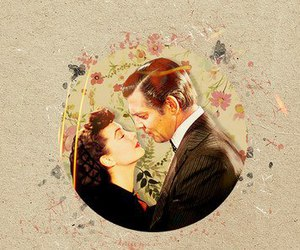 clark gable and vivien leigh image