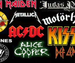 ac dc, bands, and iron maiden image