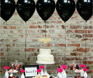 party, balloons, and decor image