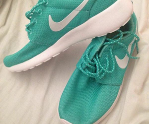 mint, nike, and run image