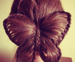 hair, <3, and brown image