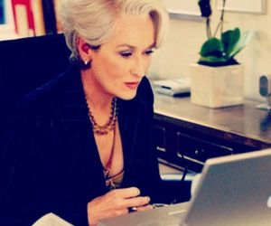 beautiful, streep, and devil wears prada image
